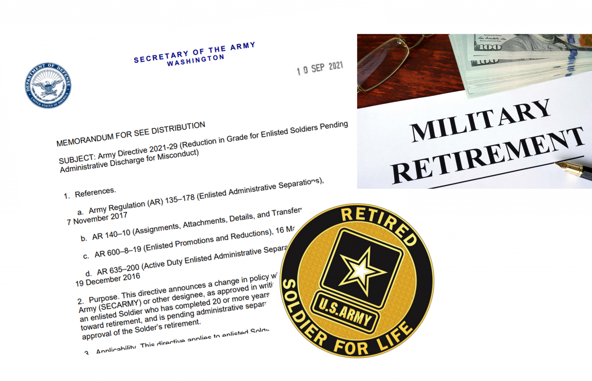 Army creates new Enlisted grade reduction policy; administrative separation lawyer